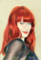 Florence Welch by waves-collide