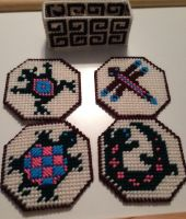 Southwest Coasters by PlasticCrafts