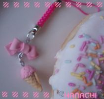 strawberry icecream strap by Hanachi-bj
