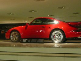another red porsche by ChosenOneFaith