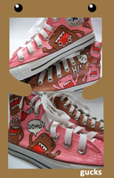 Brown and Pink Domos by gucksshoes