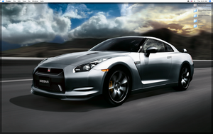 Nissan GTR by Emberblue