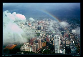 City Rainbow by Aderet