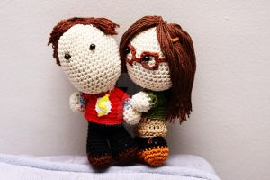 The Big Bang Theory: Sheldon Cooper and Amy Fowler by Nissie