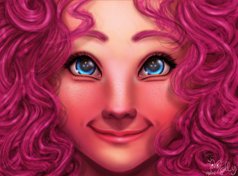 Pinkie Pie by ManelyMolly
