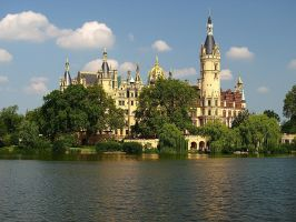 Schwerin Castle by sandor99