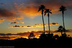 Just Another December Sunset - Phoenix, AZ by worldtravel04