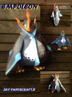 Empoleon papercraft by turtwigcuTey
