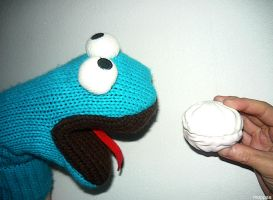 COOKIE MONSTER by moppaa