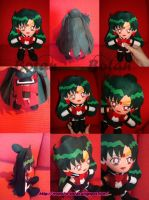 chibi Sailor Pluto plush ver. by Momoiro-Botan