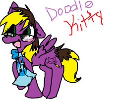 Doodle Kitty by Doodle-To-The-Rescue