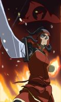 Korra : The Southern Raider by DeathscytheVII