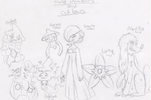 PKMN Mystery Dungeon RP: Guild Members and Outlaws by Faileh