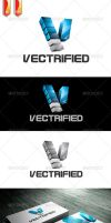 Vectrified Logo by rixlauren