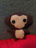 Monkey Plushie by CheesyHipster