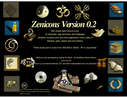 Zenicons Version 0.2 by TAubrey