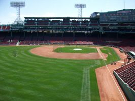 Fenway Park by runningspirit257