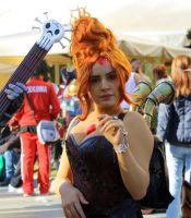Flame Princess Steampunk Cosplay by Maspez