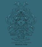 Aquirrelle House Crest by sanctumpolis