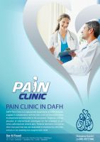 PAIN CLINIC flyer by hussein007