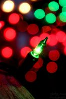 Christmas Bokeh by HarleeAnne