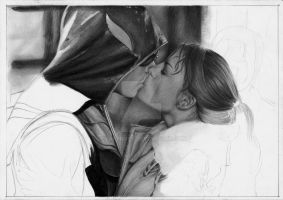Lois and 'Green Arrow' WIP 2 by EvaKedves