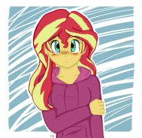 A Confused Sunset by Kittybang12