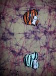 Tiger Striped Minnie Mouse Charms - White/Orange by InfiniteSnow6