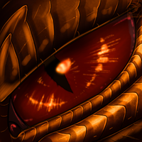 Eye-Con Comish - Scales from Hell by TwilightSaint