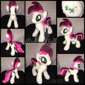 BronyCon '17 - MLP 10 inch Roseluck Plushie by RubioWolf