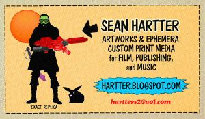 My Bidness Card Front by Hartter