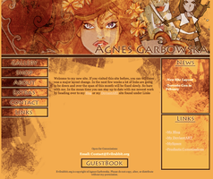 New Site Layout by AgnesGarbowska