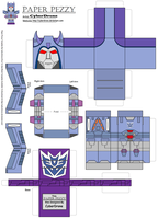 Paper Pezzy- Cyclonus 'G1' by CyberDrone
