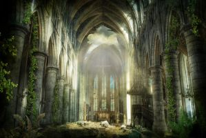 Postapocaliptic cathedral by vlad-m