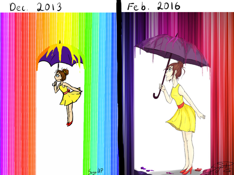 Then and now by SugarUP