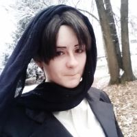 Winter!Levi Ackerman Cosplay6 Ican'teven by daffadill20