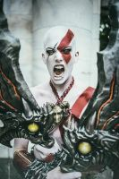 Kratos Blades of Chaos by HexMortis