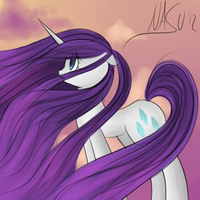 With Hair That Flows Like the Wind by NasuNi