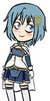 _GP:Sayaka_ by RobicTheEscapist