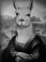 Lama Lisa by PolishPsycho