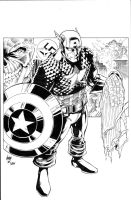 Captain America Inks by madman1