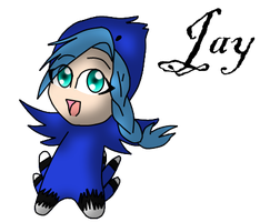 Chibi series: Jay by goldenstripe