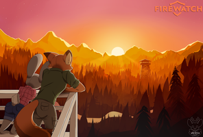 Zootopia: Firewatch by xNIR0x