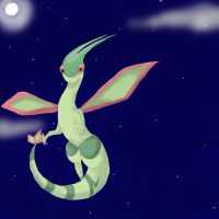 Flygon night by moichao10