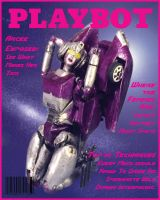 Arcee in Playbot Cover 2 by Tramp-Graphics