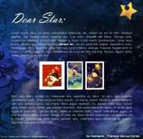 Dear Star Journal V2 by Thiefoworld