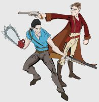 Army of Darkness Vs Firefly by ilanimator2