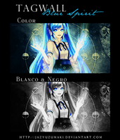 Tagwall: Blue Spirit by jazyuzumaki