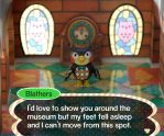 Blathers, Museum Curator by Rogue-Ranger