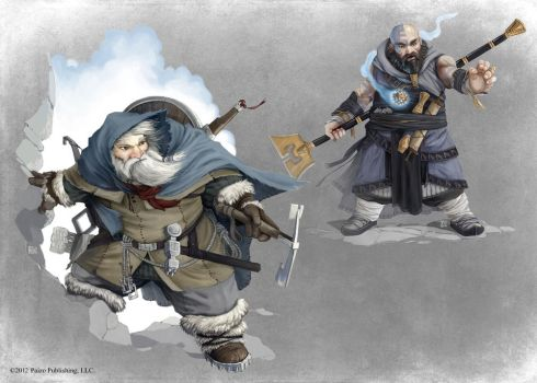 Pathfinder - Mountaineer and Monk by TimKings-Lynne